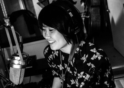 Yoosun Nam in the studio